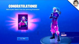 How To Get GALAXY SKIN For *FREE* (EASY METHOD) Fortnite Galaxy Skin FREE WORKING + ANY CONSOLE!