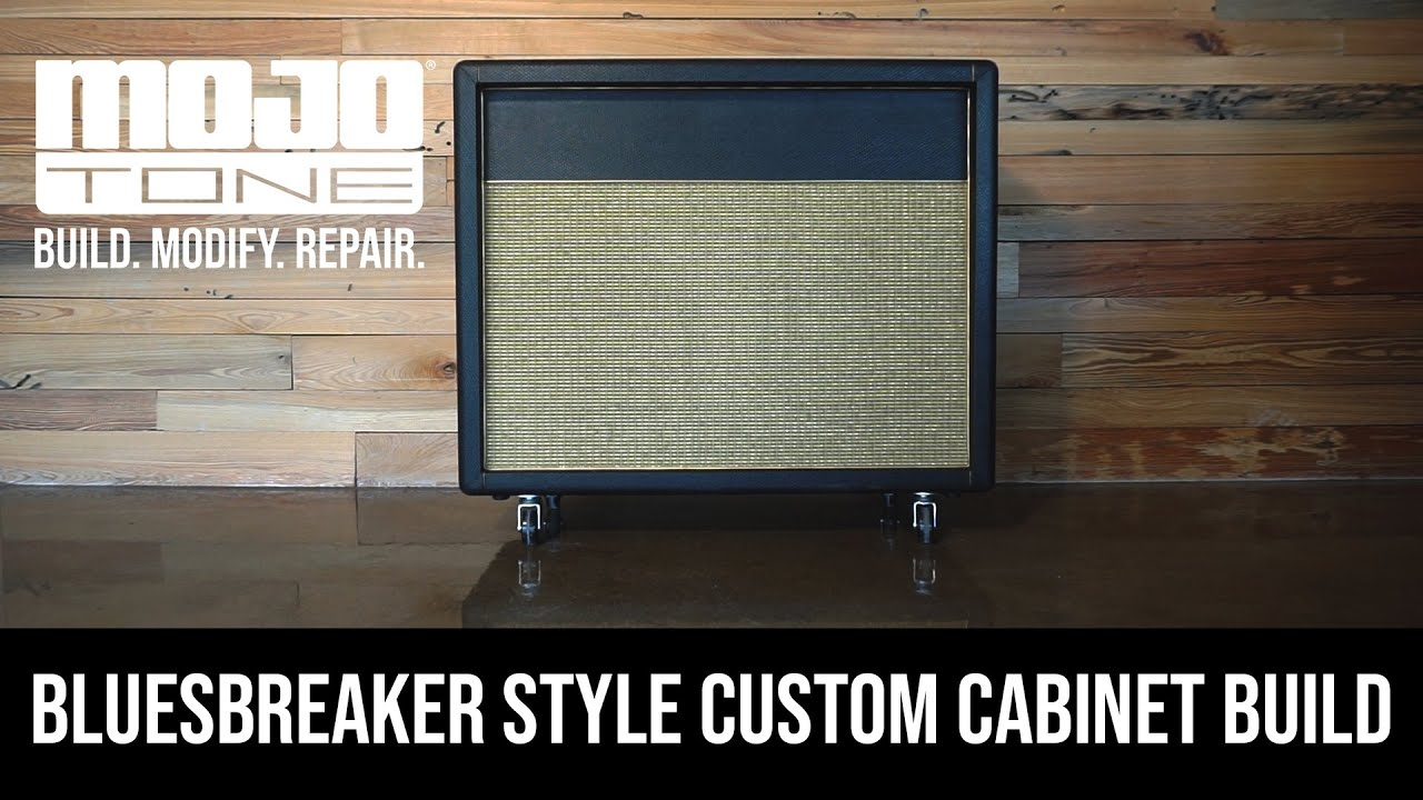Mojotone Custom Cabinet Build - Bluesbreaker Style 2X12