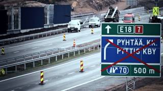 Gambar cover Ahvenkoski-Pyhtää-moottoritieosuus liikenteen käyttöön etuajassa
