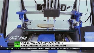 Hungry? 3D-printer food has arrived