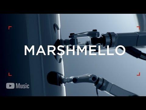 None - Watch: Marshmello Teases His YouTube Artist Spotlight Story