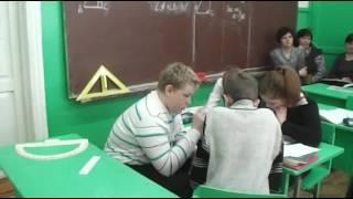 Урок геометрии, 7 класс, МОУ Судиславская ООШ, Кулёва МВ
