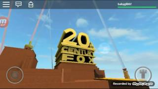 20th century fox 1999 roblox