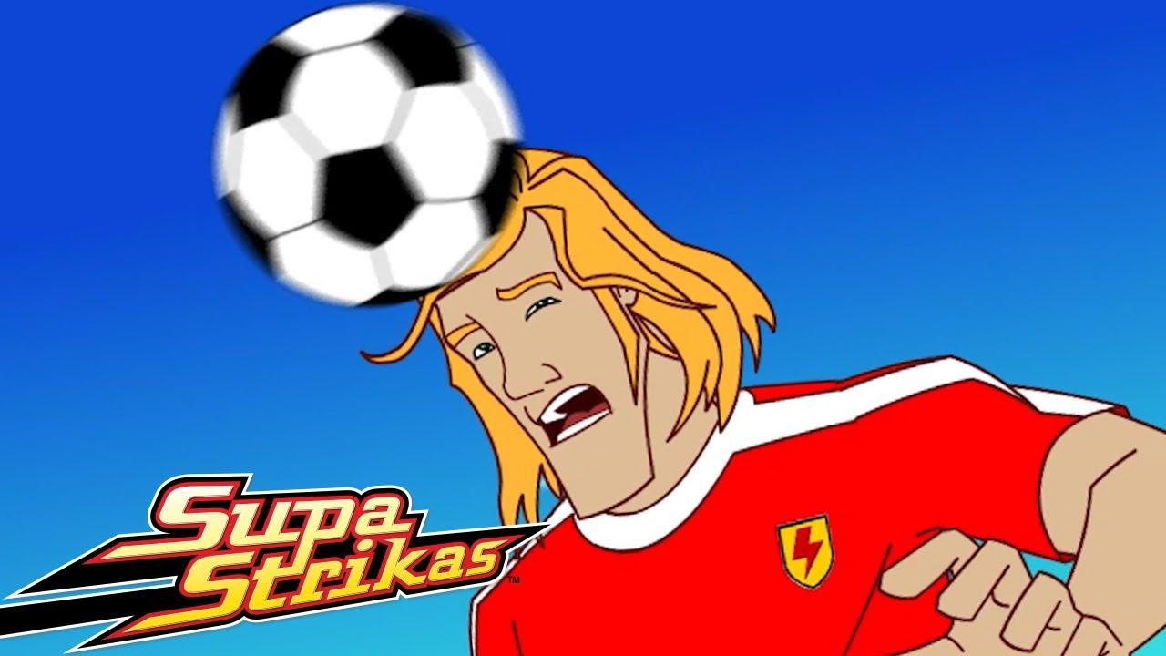El Traje de Fútbol   Super Strikas   Súper Fútbol Dibujos Animados