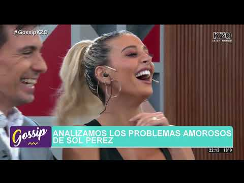 Sol Pérez presentó a su nuevo novio en un programa de televisión