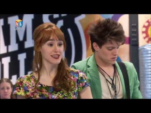 Soy Luna: Snimanje video spota za Invisibles i prepirka Nine i Jazmin (hrvatski)
