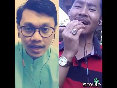 Inang Di Aidilfitri - Zaleha Hamid & Herman Tino : Duet Karaoke Smule  Zahuddin & D4Element