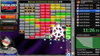 Astropop Deluxe - Any% Speedrun - 50:51.68 (Former World Record)