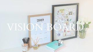 ✨My 2019 Vision Board!
