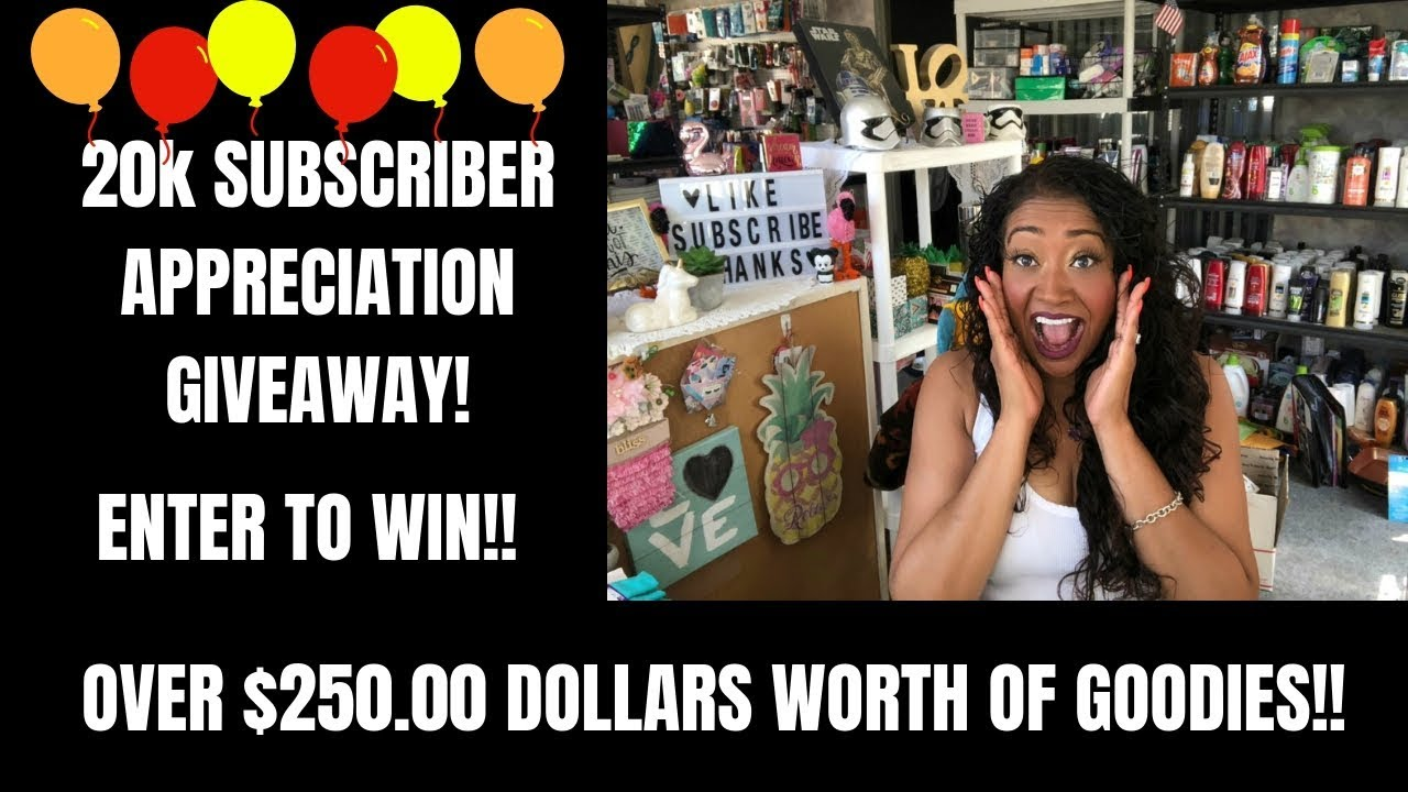 c1e1728e5598e 20K SUBSCRIBER APPRECIATION GIVEAWAY💜OVER $250.00 IN GOODIES ENTER TO WIN  THIS AMAZING GIVEAWAY!!