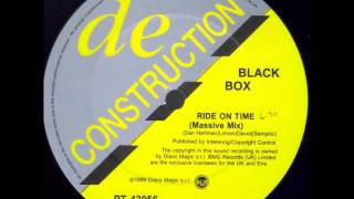 BLACK BOX: Ride on Time (Massive Mix)