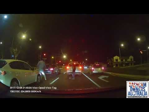 Road rage fight in Adelaide