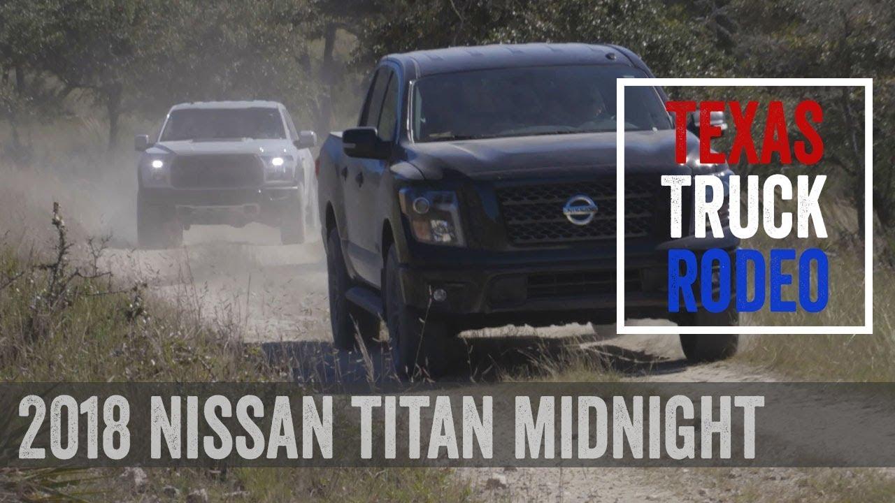 2018 nissan titan crew cab 4x4 sv midnight edition