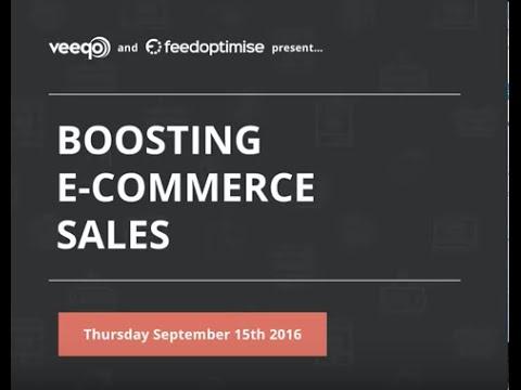 Webinar | Boosting eCommerce Sales with Feedoptimise