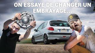 Peut-on changer son embrayage soi-même ? - Peugeot 206 2.0 HDi