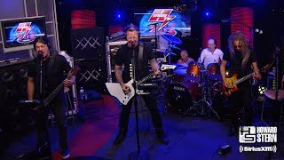 "Metallica ""Enter Sandman"" on the Howard Stern Show"