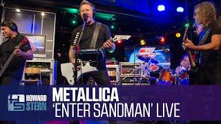 "Download Metallica ""Enter Sandman"" on the Howard Stern Show"
