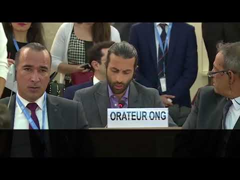 Mosab Hassan Yousef Stuns the UN Human Rights Council Debate