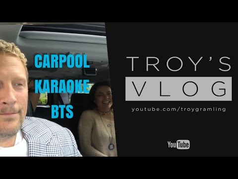 Carpool Karaoke • Behind the Scenes | VLOG #82