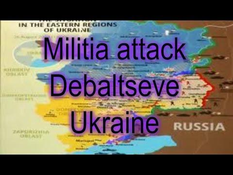 URGENT !!! Today militia attack Debaltseve Map ATO Ukraine News Donetsk, Luhansk,Mariupol