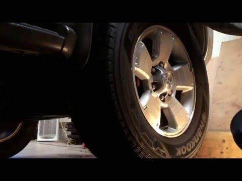 Wheel Bearing Replacement Toyota 4runner Gx470 Замена
