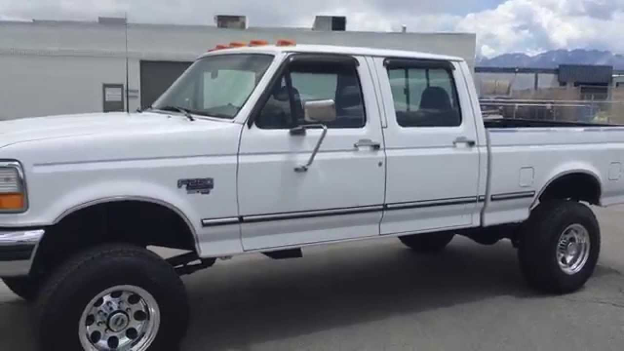 WWW.DIESEL-DEALS.COM 1996 FORD F250 CREW SHORT BED LIFTED ...