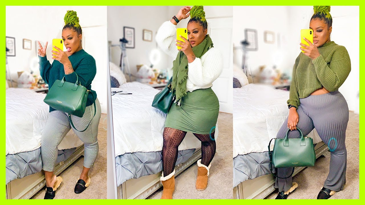 [VIDEO] - OLIVE FALL! AN OLIVE GREEN INSPIRED FALL LOOKBOOK | Plus Size Fall Lookbook 2019 4