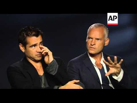 Colin Farrell and Martin McDonagh discuss the dark comedy