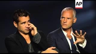 Colin Farrell and Martin McDonagh discuss the dark comedy