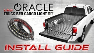 ORACLE Truck Bed LED Cargo Light Kit Install Guide