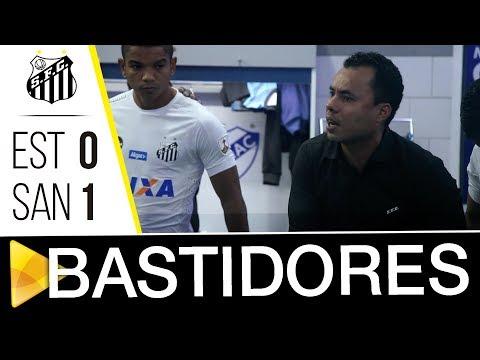 Estudiantes 0 x 1 Santos | BASTIDORES | Libertadores (05/04/18)