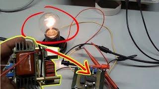 БТГ для бесплатного отопления и освещения рабочая схема Часть третья