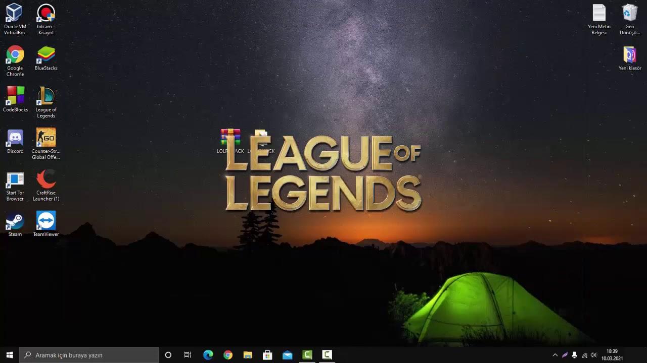 League of Legends Script Gameplay #1 w/ hanbot