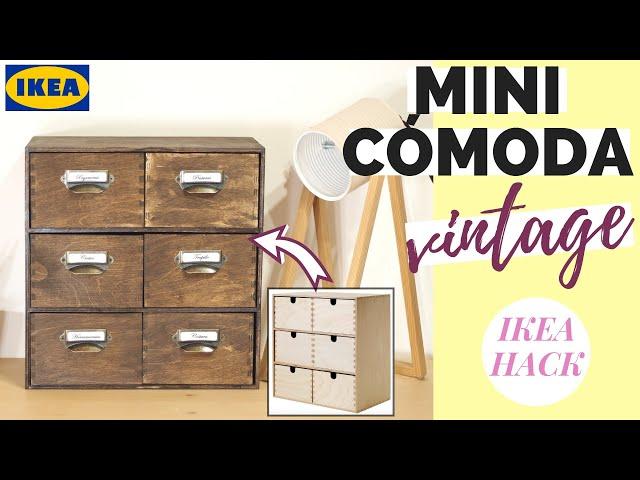 MINI CÓMODA VINTAGE [MOPPE] | IKEA HACK
