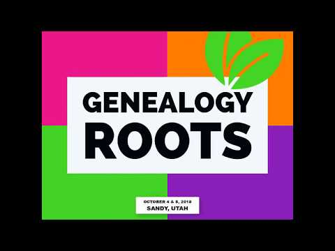 Genealogy Roots: The Un-conference Experience coming in October 2018!