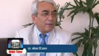 Dr.Bhola Rijal's interview by Nepal telivision(NTV-2)