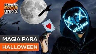Truco de magia para halloween revelado | Aprender magia gratis