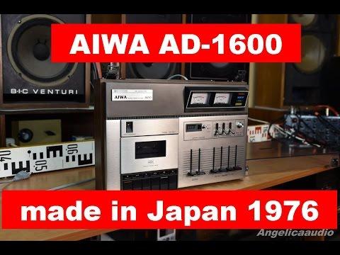 AIWA AD-1600 cassette deck