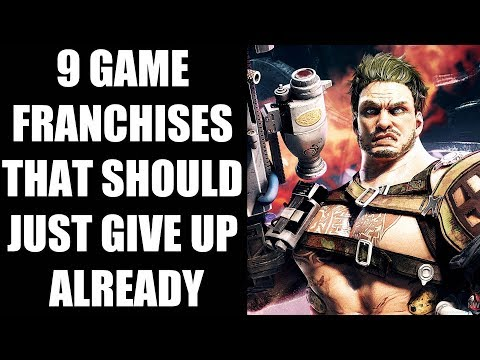 9 Video Game Franchises That Should Just Give Up Already