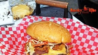 Straight Up Burger with Pig Patty & Donkey Sauce ~ Recipe