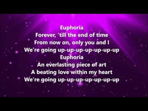 Euphoria - karaoke male ( lyrics )