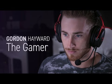 Gordon Hayward - NBA Player, Video Game Player