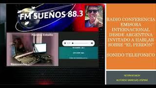El Perdon entrevista emisora Argentina para Colombia