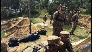Pakistan Army Destroyed Indian Bunker at LOC