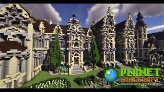 Planet Minecraft Showcase #1 Victorian Chateau by Paul_Zero