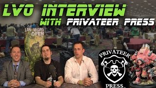 LVO Interview with Privateer Press!