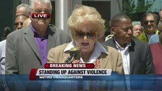 Local press conference to talk about Dallas attack