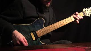 How To Play The Riff From AFU (Naturally Wired)