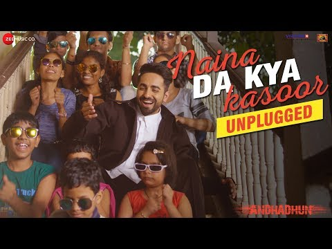 Naina Da Kya Kasoor - Unplugged f. Ayushmann Khurrana | In Cinemas This Friday | Amit Trivedi