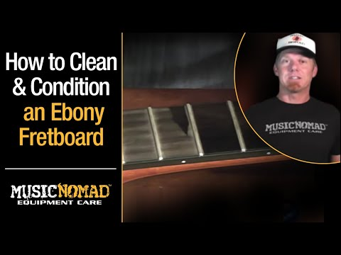 Cleaning Guitar Fretboards : how to clean and condition an ebony guitar fretboard with musicnomad f one oil youtube ~ Vivirlamusica.com Haus und Dekorationen